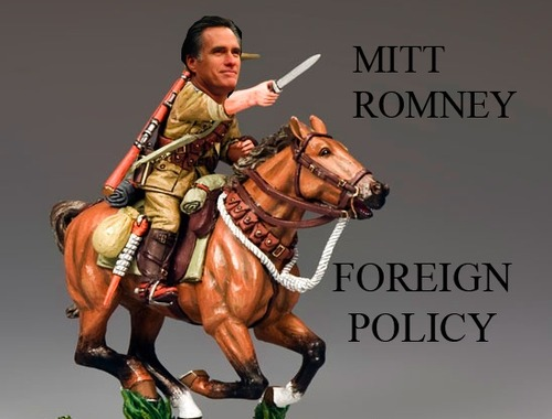 Mitt Romney Foreign Policy Horses and Bayonets