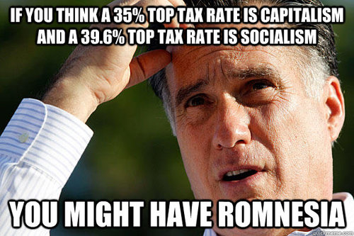 Romnesia Tax Rate